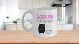 Love Is All That Matters Bears Valentine's Day Coffee Mug - Eureka Mugs