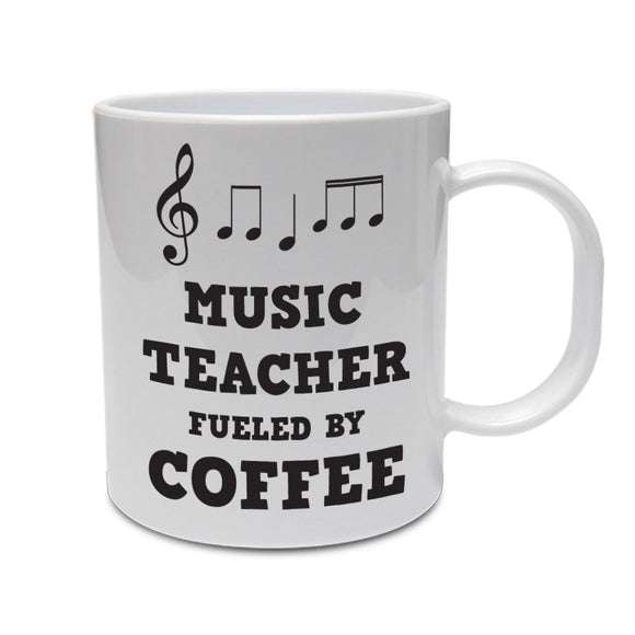 MUSIC TEACHER FUELED BY COFFEE