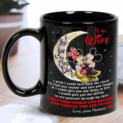 Mickey Minnie Mouse To My Wife