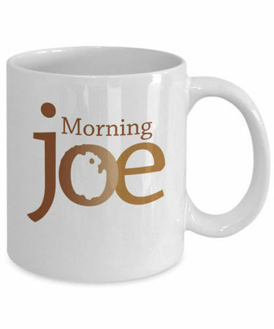 Morning joe  coffee mug
