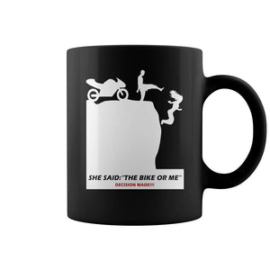 Moto Fan - Biker Coffee Mug 11 Oz Ceramic Funny Coffee Cup - Eureka Mugs