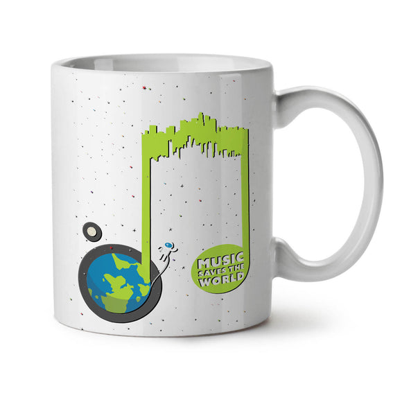 NEW White Tea Coffee Mug 11 oz  Wellcoda - Eureka Mugs