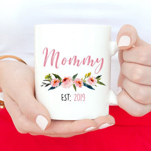 New Mommy Mug, New mom Gifts, Mom To Be mug, Mommy to be Gifts