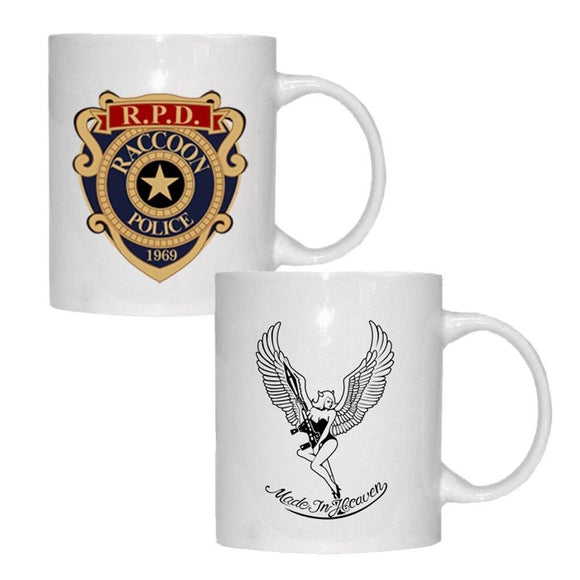 New Resident Evil Remake RE 2 Biohazard Zombie RPD Tea Mugs - Eureka Mugs