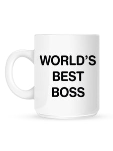 New World's Best Boss Mug