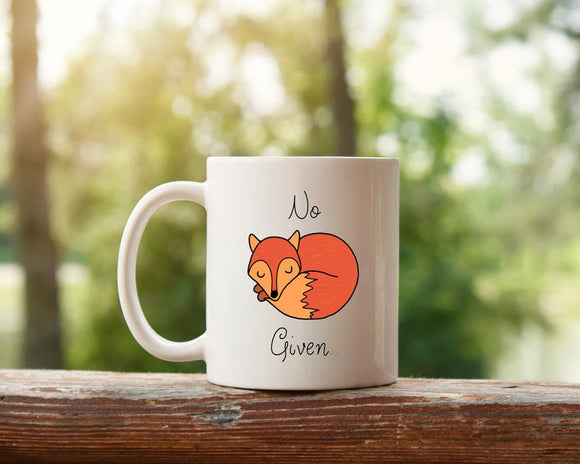 No Fox Given Coffee Mug