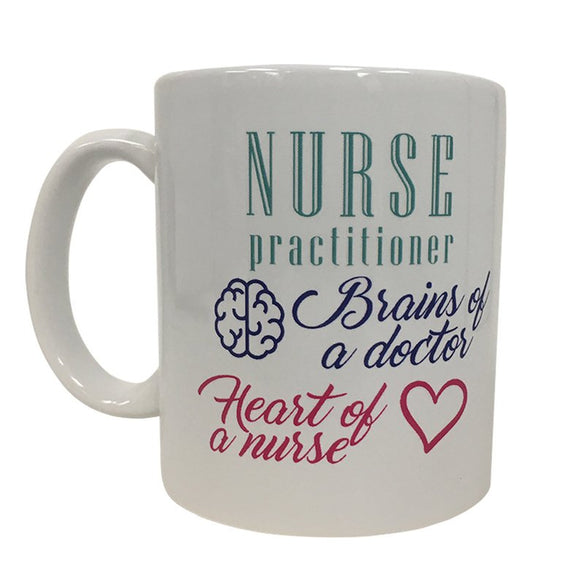 Nurse Practitioner Brains Of A Doctor Heart Of A Nurse