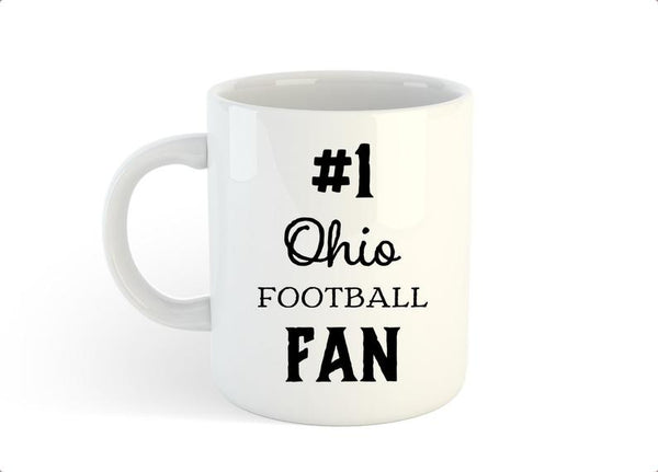 Ohio Football Fan Mug, #1 Ohio Fan