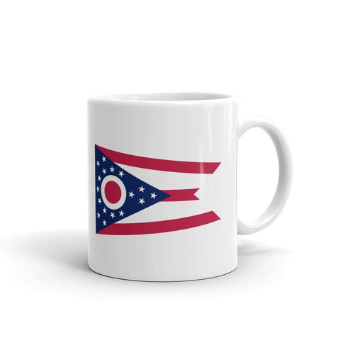 Ohio, US State Flag Mug