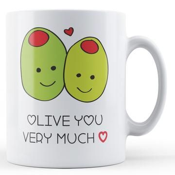 Olive You Very Much Coffee Mug