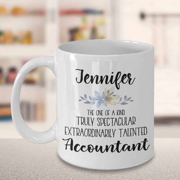 PERSONALIZED Accountant Mug