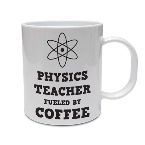 PHYSICS TEACHER FUELED BY COFFEE