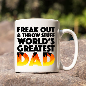 Phish Mug - Fuego, Phish World's Greatest Dad Mug, Phish Dads