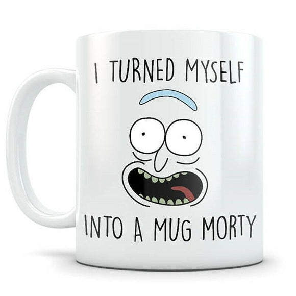 Rick Morty Mug