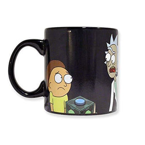 Rick and Morty Messekes Heat Changing Ceramic Coffee Mug