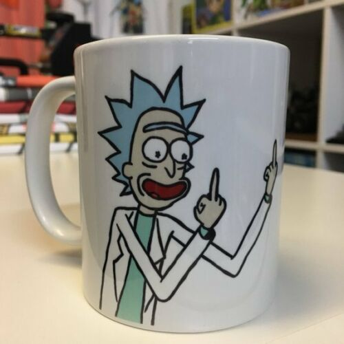 Rick and Morty Rick Sanchez Middle Finger Mug