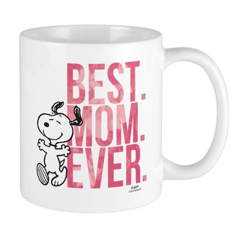 SNOOPY BEST MOM EVER MUG