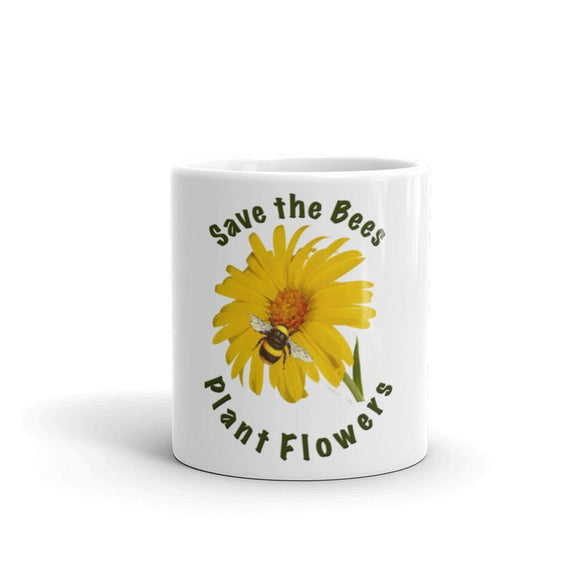 Save the Bees Plant Flowers