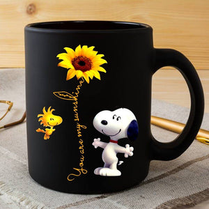 Snoopy and Woodstock Mugs