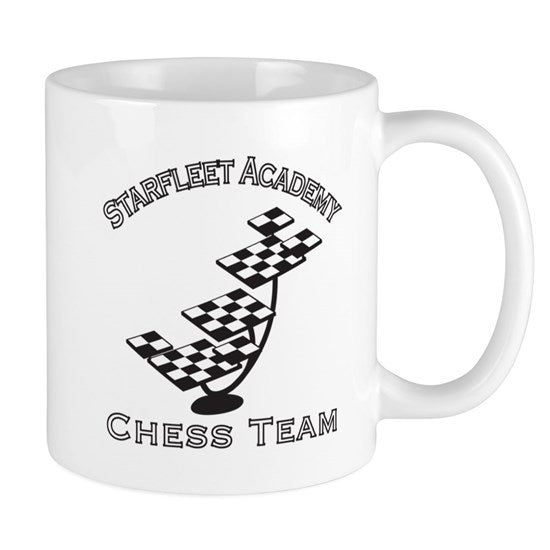 Starfleet Academy Chess Team Coffee Mug