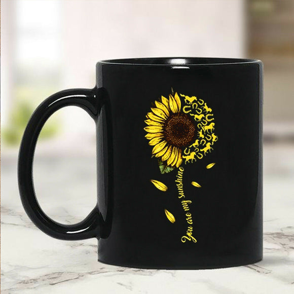 Sunflower Horse You Are My Sunshine Mug