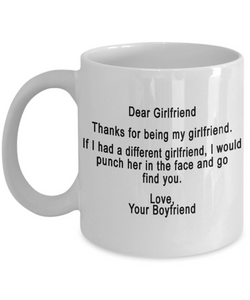 THE PERFECT GIFT FOR YOUR GIRLFRIEND - Eureka Mugs
