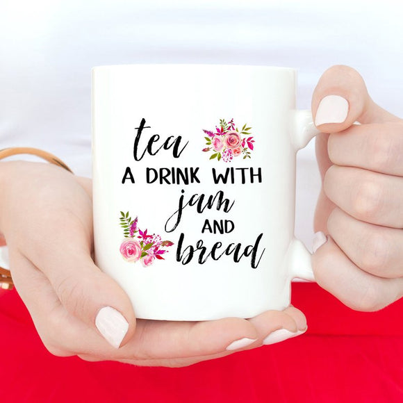 Tea, A Drink With bread And Jam, The Sound Of Music Mug