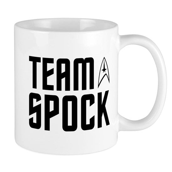 Team Spock Coffee Mug
