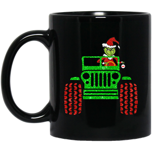 The Grinch Jeep Driver Coffee Mug