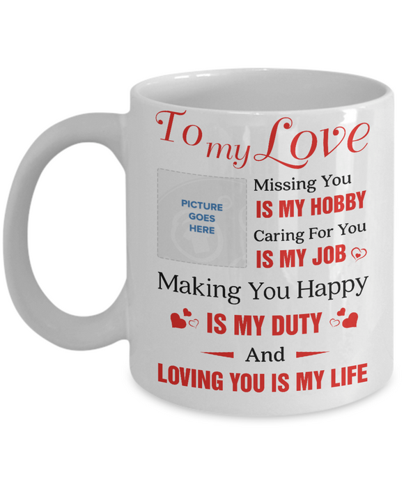 To My Wife Custom - Eureka Mugs