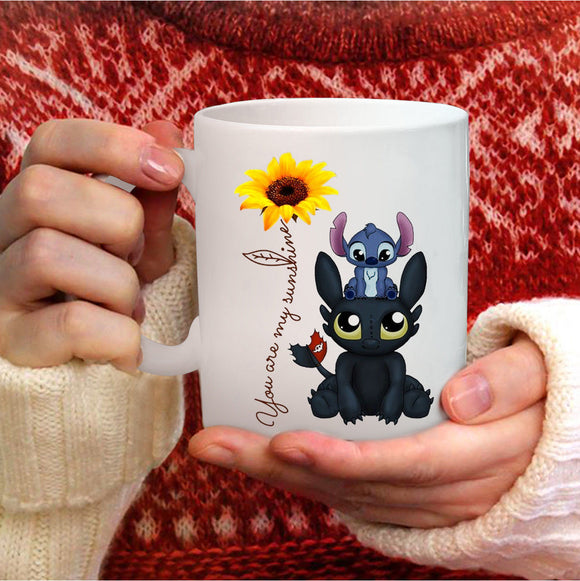 Toothless And Stitch Mug