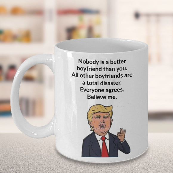 Trump Valentines Day Mug 11Oz, Best Gift Coffe Mug For LoverListed for charity - Eureka Mugs