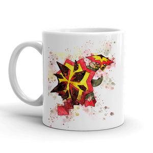 Turtonator Pokemon Mug 11oz Ceramic Tea Cup Color Changing Anime Coffee Mug Q776 - Eureka Mugs