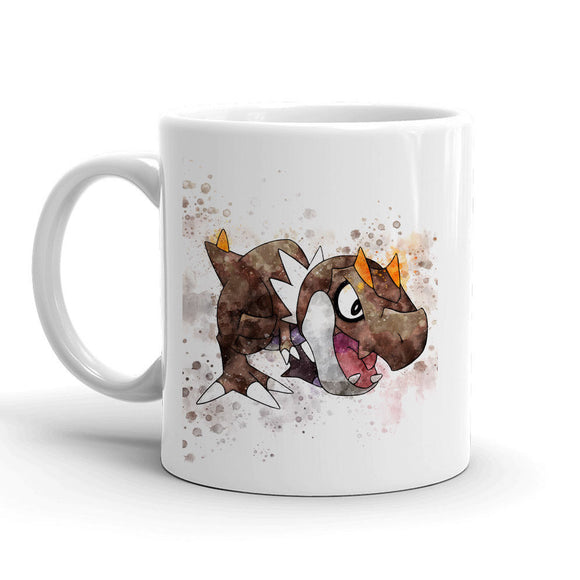 Tyrunt Pokemon Mug 11oz. Ceramic Tea Cup Color Changing Anime Coffee Mug Q696 - Eureka Mugs