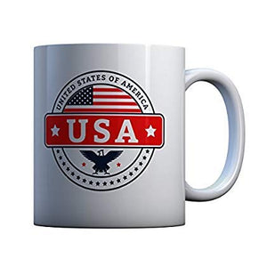 USA Coffee Mug, July 4th, 1776, Patriot Coffee Mug