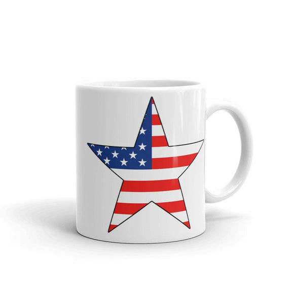 USA Star Flag Mug