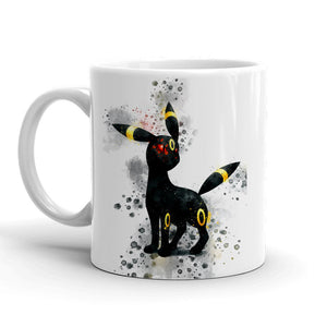 Umbreon Pokemon Mug 11oz. Ceramic Tea Cup Color Changing Anime Coffee Mug Q197 - Eureka Mugs