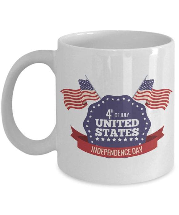Us Independence Day Coffee Mug