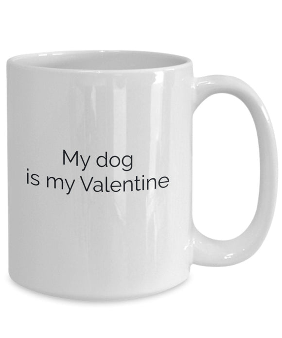 Valentines day coffee mug - funny pet lover funny gift singles day