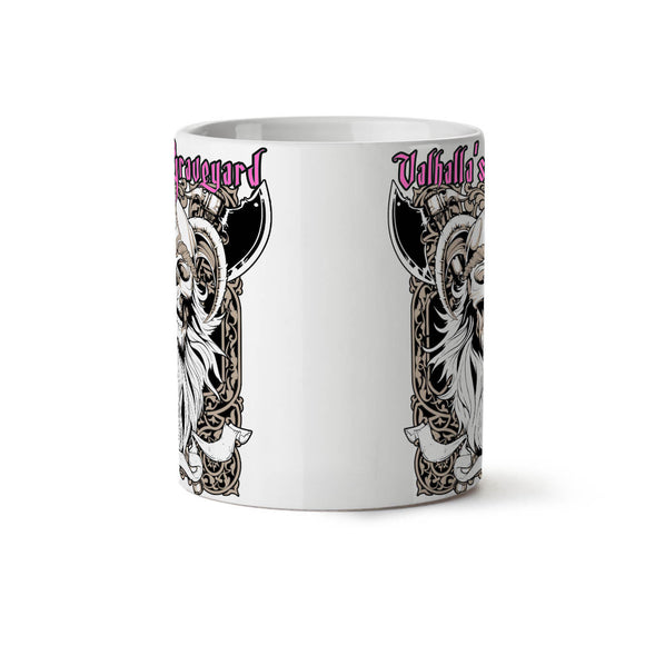 Valhalla Graveyard NEW White Tea Coffee Mug 11 oz  Wellcoda2 - Eureka Mugs