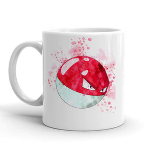 Voltorb Pokemon Mug 11oz. Ceramic Tea Cup Color Changing Anime Coffee Mug Q100 - Eureka Mugs