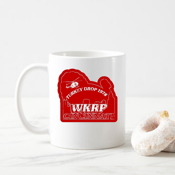 WKRP Turkey Drop Vintage Coffee Mugs