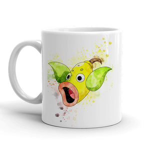 Weepinbell Pokemon Mug 11oz. Ceramic Tea Cup Color Changing Anime Coffee Mug Q70 - Eureka Mugs