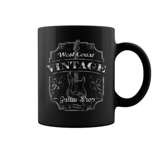 West Coast Vintage Guitar Shop Tea Mug