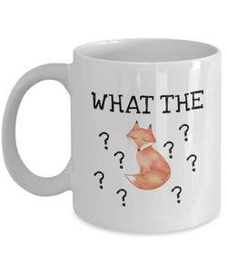 What The Fox, Fox Mug