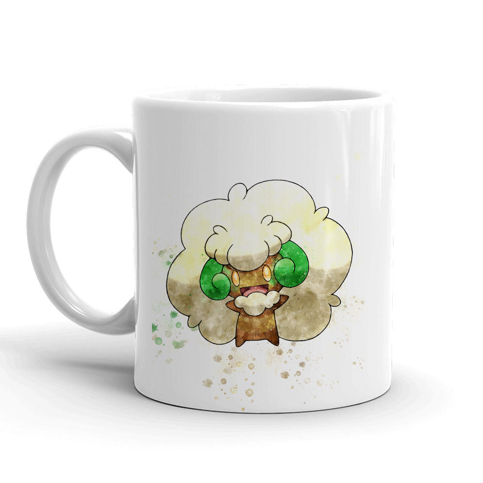 Whimsicott Pokemon Mug 11oz Ceramic Tea Cup Color Changing Anime Coffee Mug Q547 - Eureka Mugs