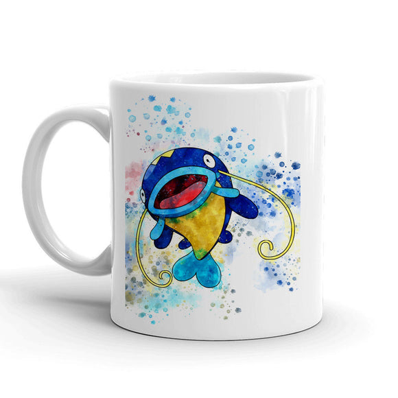Whiscash Pokemon Mug 11oz. Ceramic Tea Cup Color Changing Anime Coffee Mug Q340 - Eureka Mugs