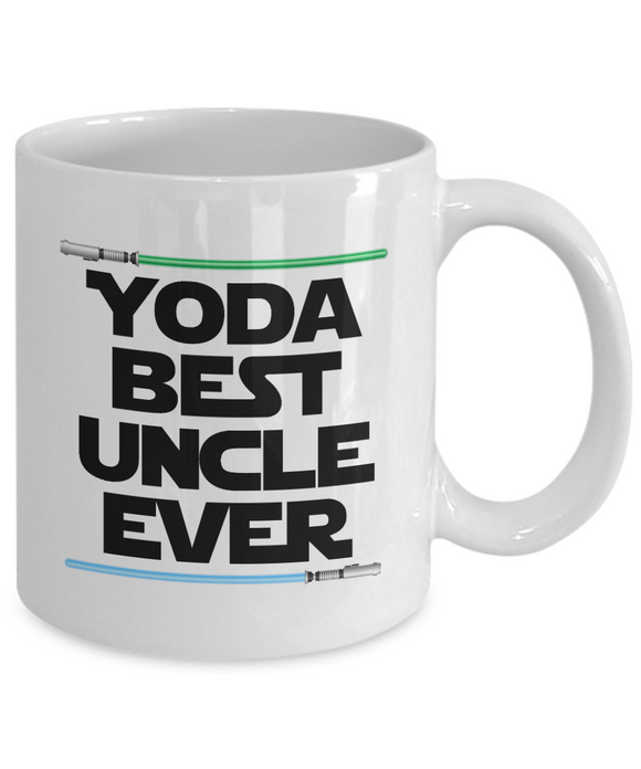 Yoda Best Uncle Birthday Gift Mug