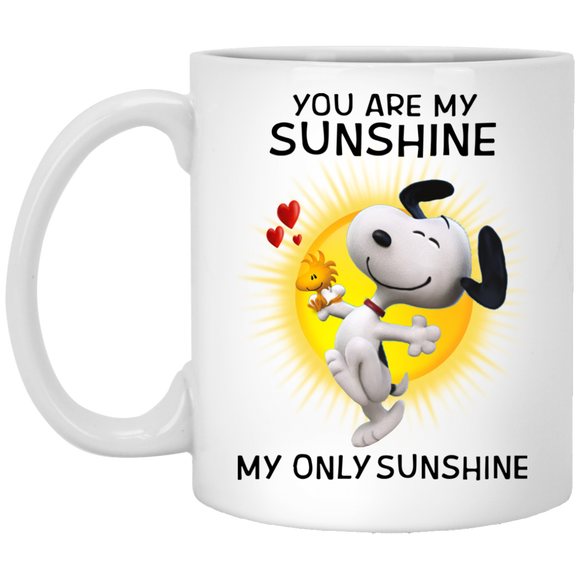 You Are My Sunshine Snoopy Mug