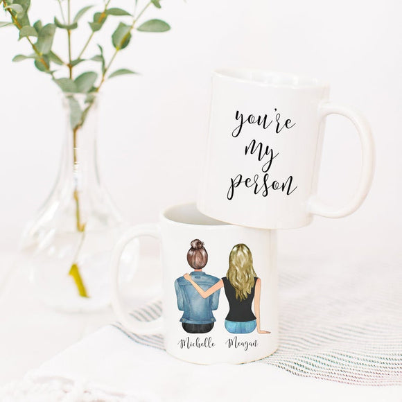 You're My Person Coffee Mug, Personalized Mug